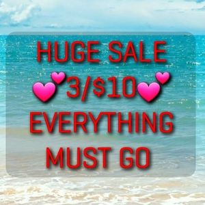 💕3/$10💕kids sale Everything must go